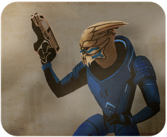 Garrus by dearboys