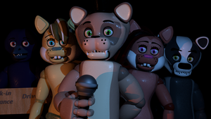 Popgoes' Pizza Promo Art  (!Read the description!) by EverythingAnimations