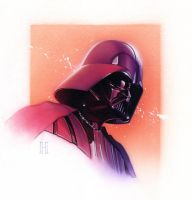 Darth Vader by roberthendrickson