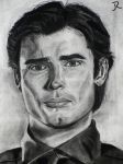 Tom Welling as Clark Kent by SpideyVille