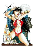 Vampirella Copics by AlexxiaTM
