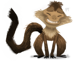 DAY 424. Capuchin by Cryptid-Creations