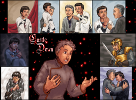 Castle Down - Illustrations by ErinPtah