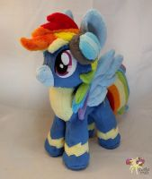 Rainbow Dash (Crash) Wonderbolts by KetikaCraft