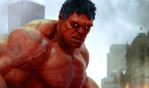 Red Hulk by Trevinoss97