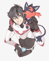 Pokemon Paladin Trainers: Keith and Litten by PRllNCE