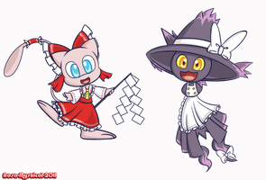 Touhou Pokemon by Rosa-Mystical