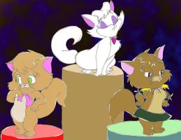 Tom n Jerry Kids Girl Suspects by ThrillingRaccoon