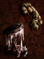 C is for Carnivorous Cookies by Marioshi64