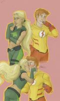 wally and artemis by may12324