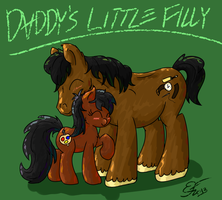 Daddy's Little Filly by Emberfall0507