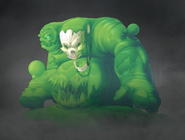 Goo Creature by MoonFX