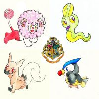 Fakemon and Harry Potter! :) by odraian