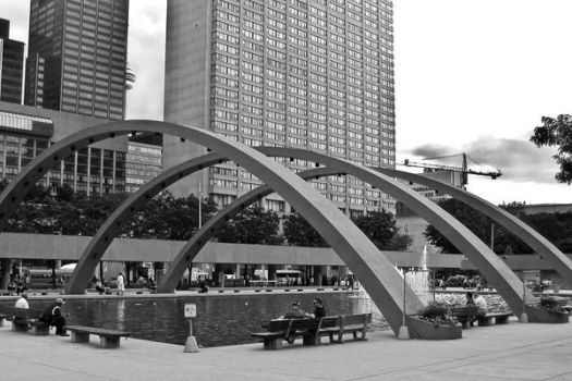 Nathan Phillips Square by LeftyRodriguez