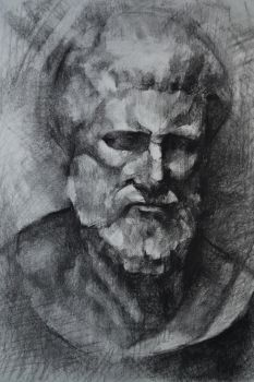 Charcoal drawing by sentive