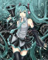 Vocaloid - Miku 01 by slapmyface