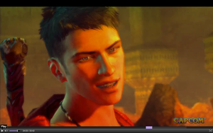 E3 2012: Dante's angel smile by wily1983