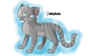 Warrior Cats Jayfeather by jodiepikachu
