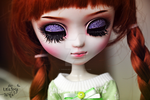 Pullip faceup by theugliestwife