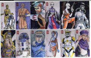 2009 Clone Wars Sketch Cards 2 by Fierymonk