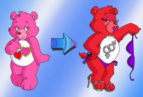 Care Bears, The Teen Years_5 by DrChrissy