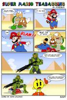 Super Mario Teabagging. by Atariboy2600