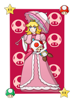 Princess Peach by MarioK9