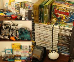 My video game collection by aoao2