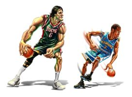 NBA stars 3 by A-BB