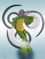 TMNT Avatar Series-Donnie: Air by FlashyFashionFraud