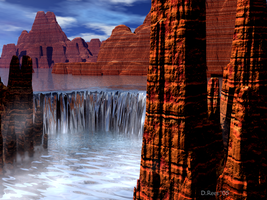 Water in the Desert by Zethara