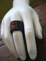 Corset Ring- Dark Hand by Vile-Victorian