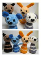 heart nose jelli critters by andricongirl