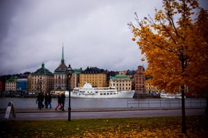 Autumn in Stockholm by Sicchan