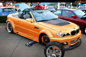 BMW M3 convertible chop by Pisci