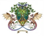 Lamhanhe Coat of Arms by windfalcon