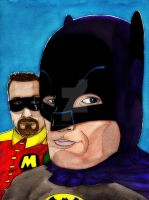 Batman 66 commission by NO! by nathanobrien