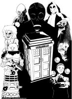 Doctor Who Monsters by devillo