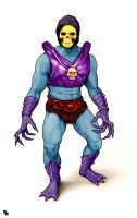 Masters of the Universe - Terror Claws Skeletor by PennNorris