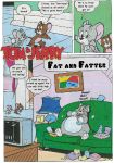 Tom and Jerry Fat Comic 01 by MCsaurus