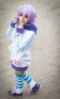 Cosplay  Hyperdimension Neptunia - Neptune by AsamiKyu