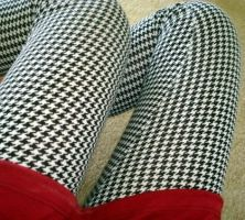 houndstooth by mycoutureheart