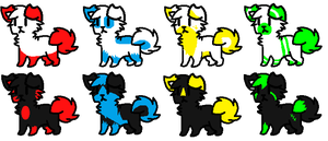 Adopts #8 -Open- by Furry-Adopts576