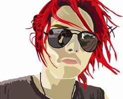Gerard Way- Vector Art by Medicated-Kitty
