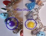 Tatl And Tael Fairy Charms Set Zelda Custom made by TorresDesigns