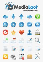 Medialoot icons by LazyCrazy