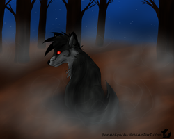PC: Night is dark by Fennekfuchs