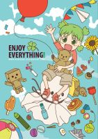 Yotsuba - Enjoy Everything by kuridoki