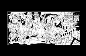 X-Men Guernica - INKS by Theamat