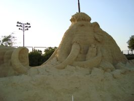 Sand art in burgas 30 by tonev